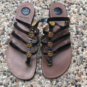 Tory Burch Gladiator Sandal black.